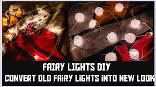 Gule gun hacks/Gule gun diy/fairy lights diy/Diy/convert old fairy lights into new look/simple diy
