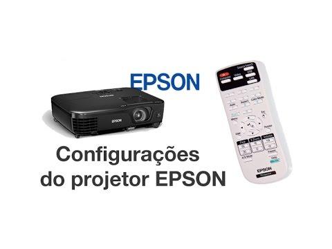 configura es do projetor espon power lite youtube rh youtube com Epson PowerLite S5 77C Epson PowerLite Projector