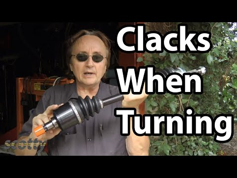 How to Fix Car that Clacks When You Turn (CV Joint and Axle)