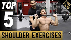 Physical Activity- Top 5 SHOULDER MASS Exercises