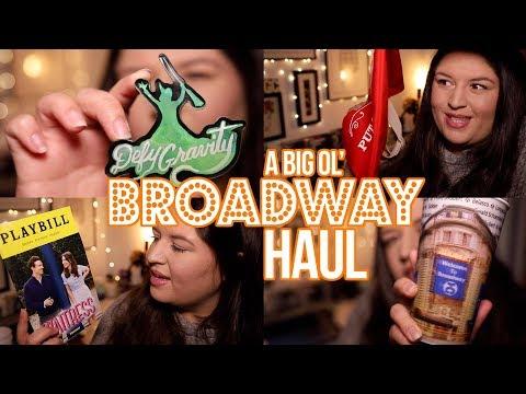 2018 Broadway Haul! 🎭💸 Rukaya Cesar