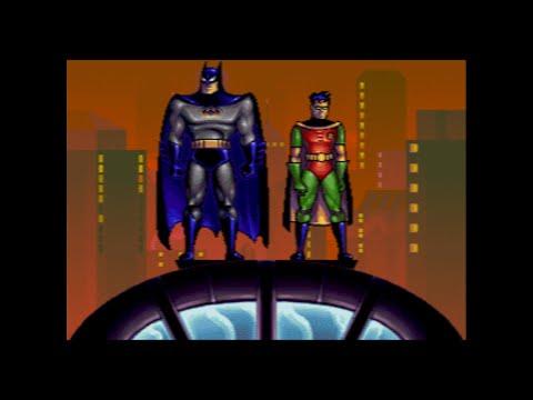 The Adventures of Batman & Robin Sega Genesis - Full Game Walkthrough No Death