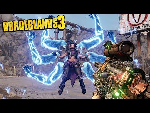 BORDERLANDS 3 GAMEPLAY TRAILER - Official Reveal Gameplay Trailer Reaction!