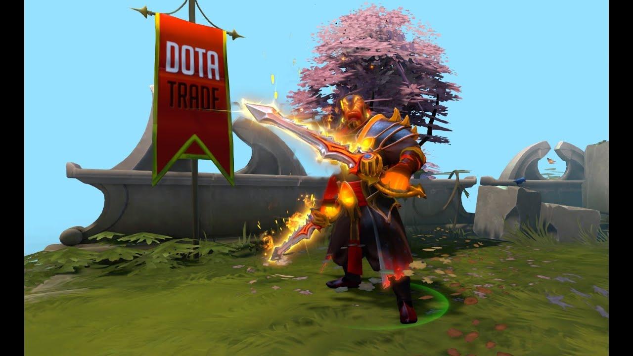 rapiers of the burning god ember spirit immortal preview dota 2