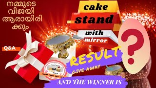 Give away winner selected video  Ainish world