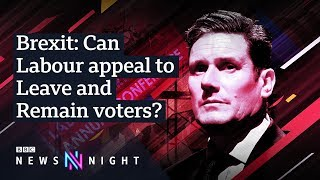 Labour conference: Keir Starmer 'disappointed' by Brexit vote - BBC Newsnight
