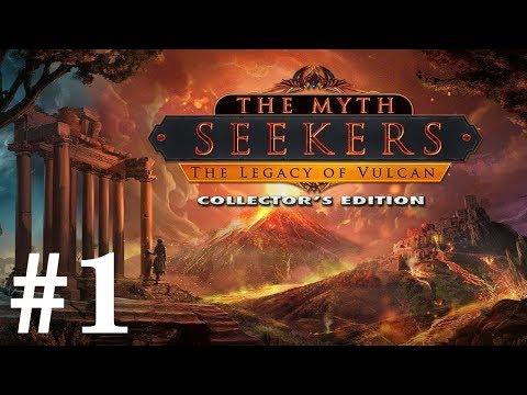 The Myth Seekers: The Legacy of Vulcan Walkthrough part 1
