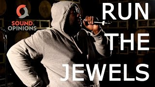 """Run The Jewels perform """"It's A Christmas Fucking Miracle"""" (Live on Sound Opinions) [Explicit]"""