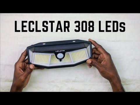 Solar Lights – Motion Sensing – LECLSTAR 308 LEDs