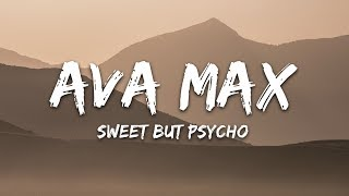 Gambar cover Ava Max - Sweet but Psycho (Lyrics)