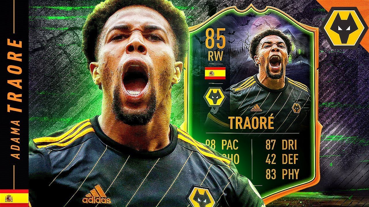 Is The Hype Real 85 Scream Adama Traore Review Fifa 20 Ultimate Team Youtube