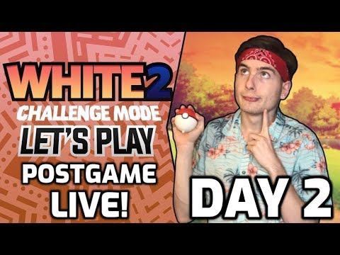 Pokemon White 2 Postgame LET'S PLAY + Games With Viewers! - Interactive & Chill Live Stream!