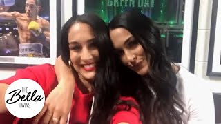 Nikki and Brie's SummerSlam reaction!