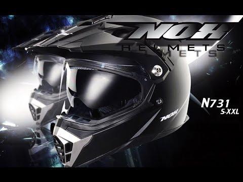 Review Nox N731 Motocross Helmet Youtube