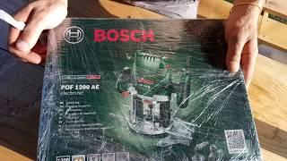 Розпакування Фрезер Bosch POF 1200 AE