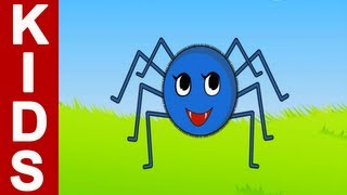 Nursery Rhymes | Incy Wincy Spider | Kids Songs With Lyrics (English) By TingooKids