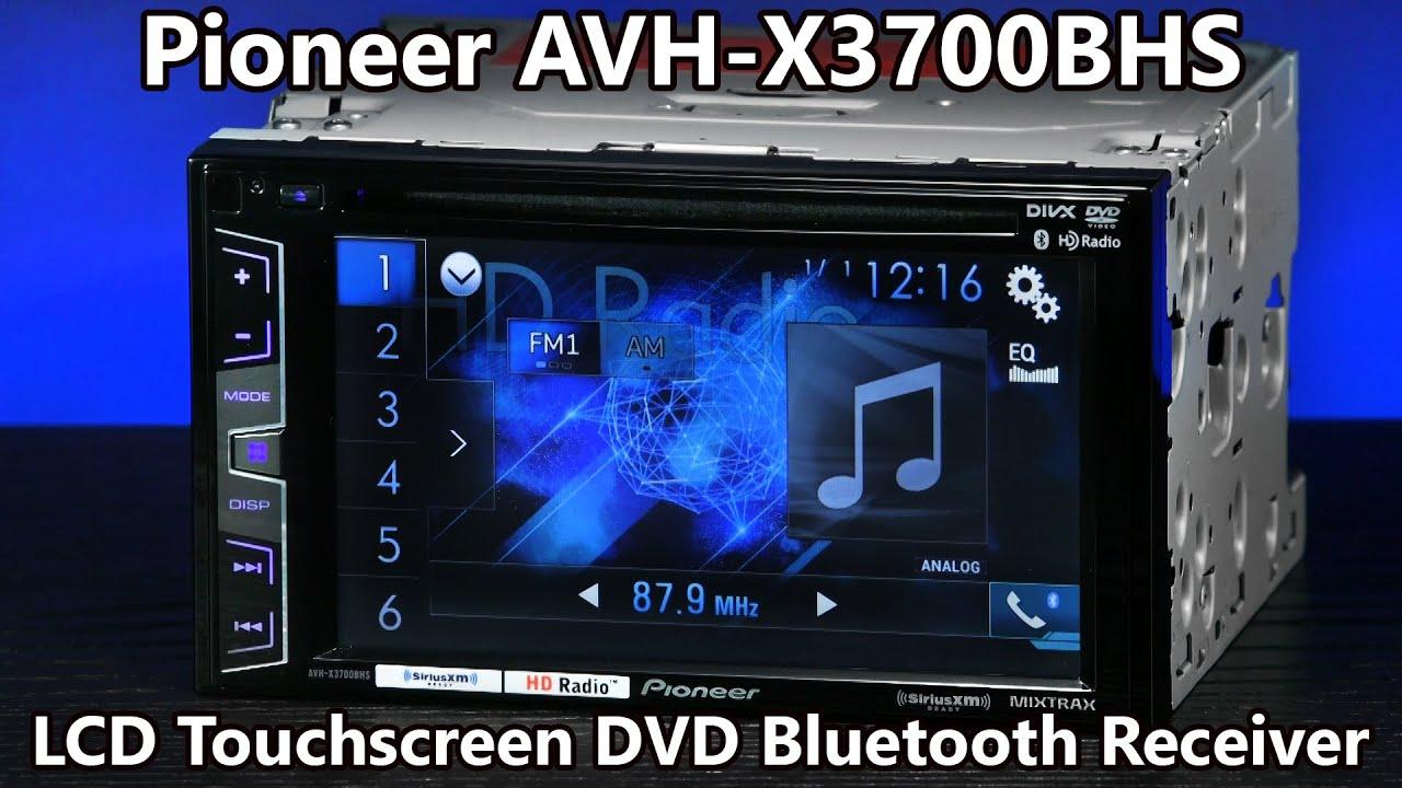 Pioneer Avh Radio Ausschalten 1998 Toyota 4runner Factory Stereo Wiring Diagram X3700bhs Double Din Bluetooth Dvd 6 2