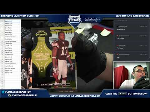 10_17_17 - 2005 NFL Playoff Contenders Box Break