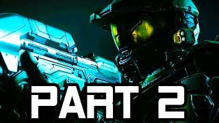 Halo 5 Gameplay Walkthrough Part 2 - Mission 2 FULL GAME!! (Halo 5 Guardians Campaign Gameplay)
