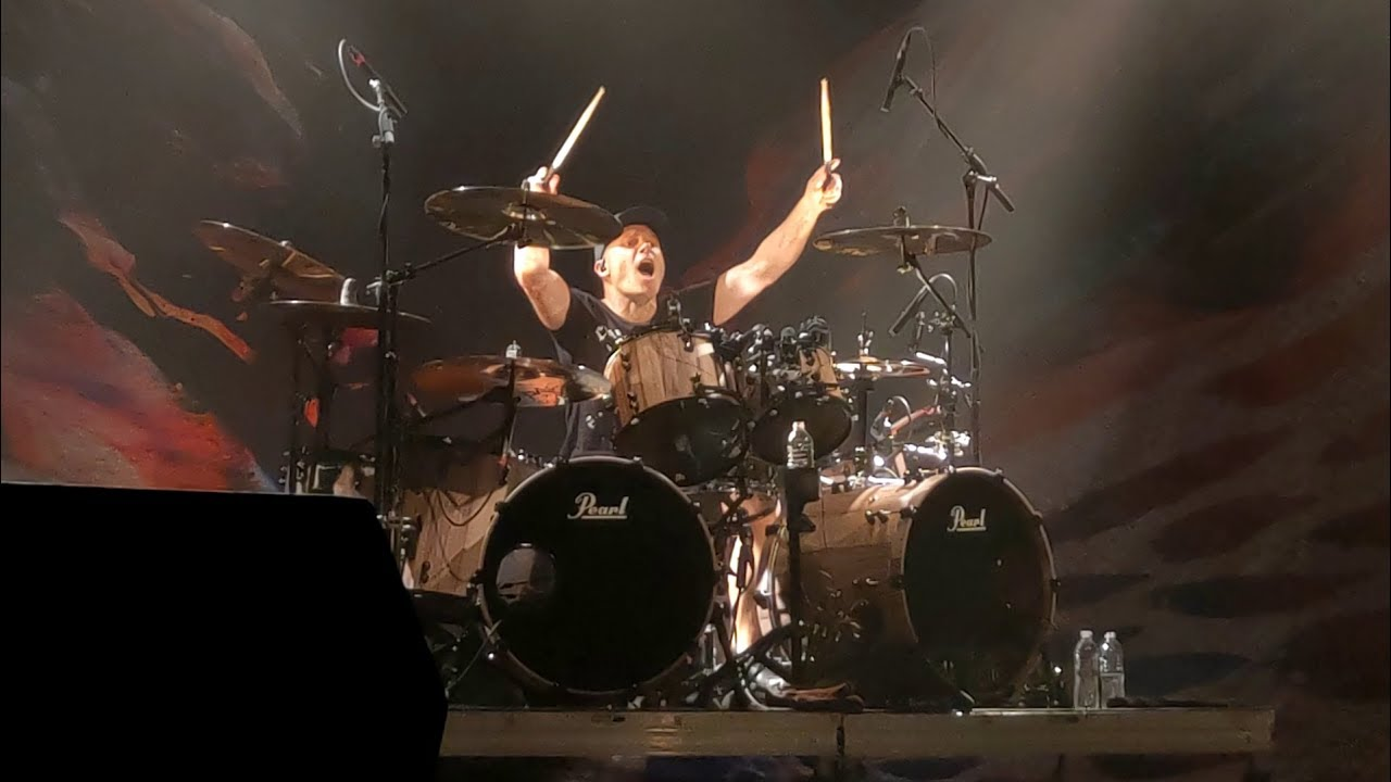 Jason Bowld Drum Solo Bullet For My Valentine Live 2018 Youtube