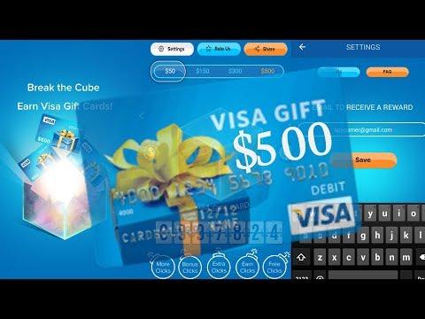 Make Money & Earn Cash App | Earn Easy $500 Visa Gift Card | appgamer