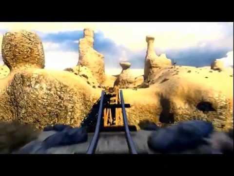 Trailer Tàu lượn Canyon-phim 5D khu vui chơi Ngôi nhà Hollywood