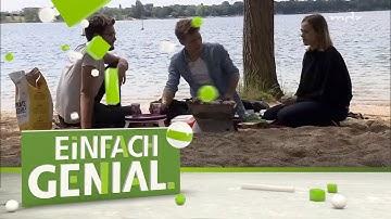 Ideen rund ums Picknick: Mini-Grill, Mini-Tisch, alternative Holzkohle | Einfach genial | MDR