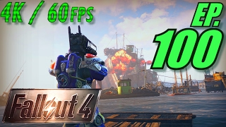 Fallout 4 Walkthrough in 4K Ultra HD / 60fps, Part 100: New High-Res Texture Pack DLC (Let
