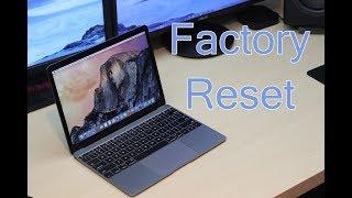 Restore Macbook , chạy lại hệ điều hành.