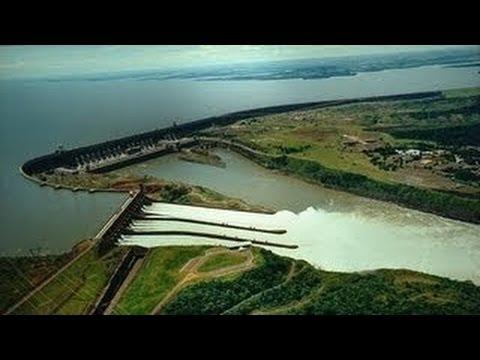 Itaipu - größte Wasserkraftwerk der Welt