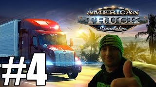 American Truck Simulator Gameplay #4 - Low Air Pressure (PC)
