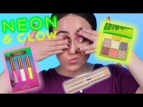 NEON HYPE IS REAL 🦠HOT NEW MAKEUP Try On Test 🦠Hatice Schmidt