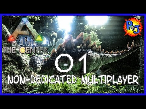 Let's Play ARK: Survival Evolved | PS4 Non-Dedicated Server Multiplayer Gameplay | Part 1 (P+J)