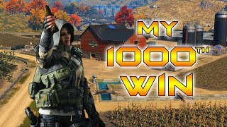 CoD Blackout | 1000 WINS! How I got my 1000th win!