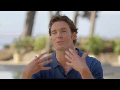 "Me Before You: Sam Claflin ""Will Traynor"" Behind the Scenes Movie Interview"