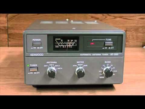 Kenwood AT-250 External Auto Tuner ATU