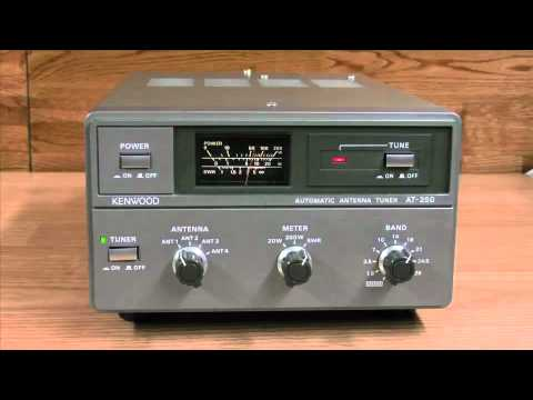 kenwood at 250 external auto tuner atu youtube. Black Bedroom Furniture Sets. Home Design Ideas