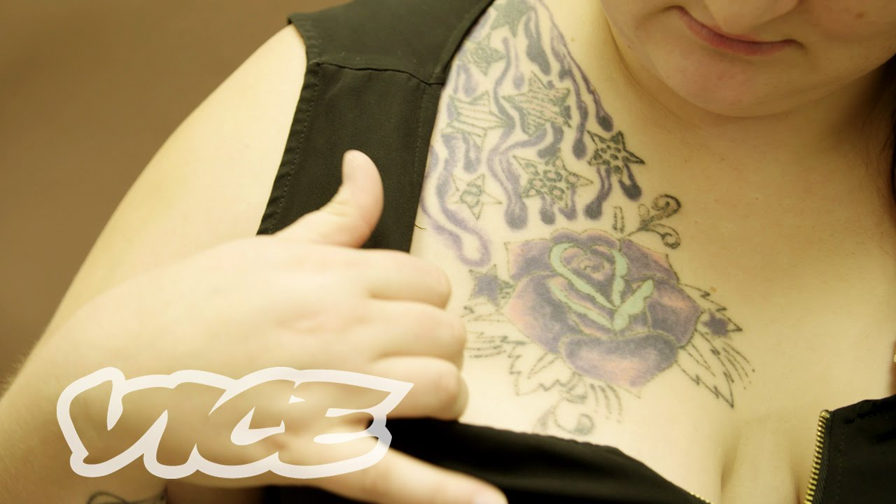 Unbranded sex trafficking tattoo removal youtube for Pimp branding tattoos