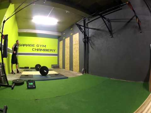 fittest cop 2015 wod 2 team garage gym chamb ry youtube. Black Bedroom Furniture Sets. Home Design Ideas