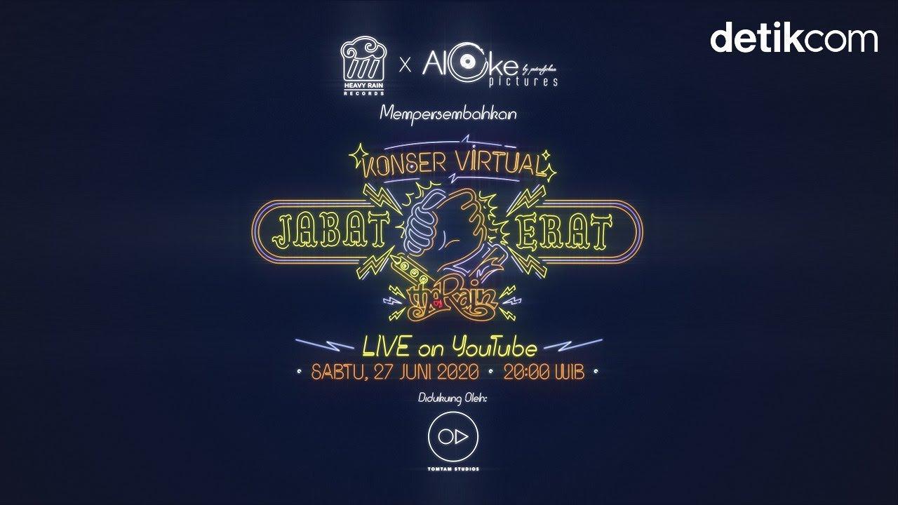 Konser Virtual Jabat Erat  The Rain