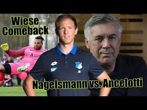 Ancelotti gegen Nagelsmann, Comeback von Tim Wiese und Ronaldo besoffen – FS Folge 5