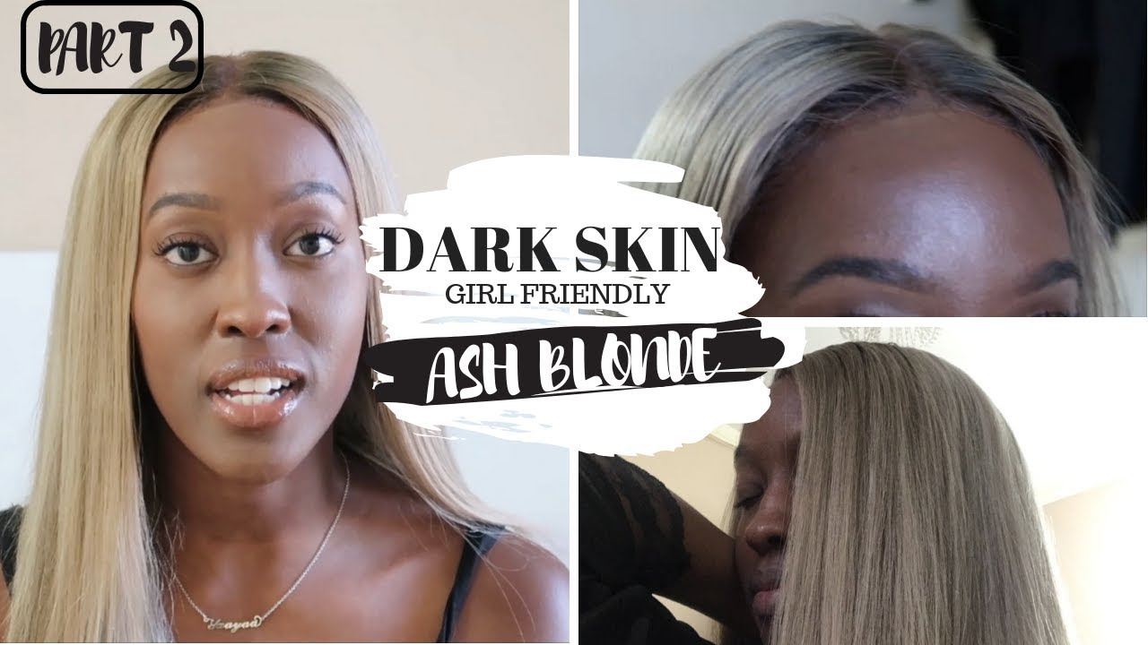 How I Got The Perfect Ash Blonde For Dark Skin Without Wella