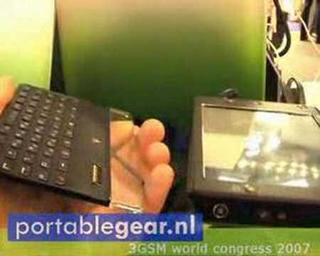 HTC Advantage X7500 at 3GSM 2007