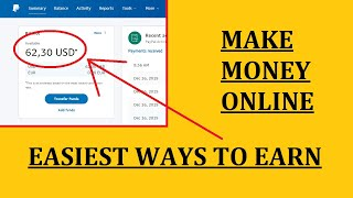 Make $62,30 per day - easiest ways to earn money online
