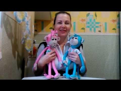 Мартышка - Мастер-класс по изготовлению игрушки