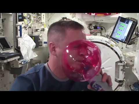 Having Fun    in Space!