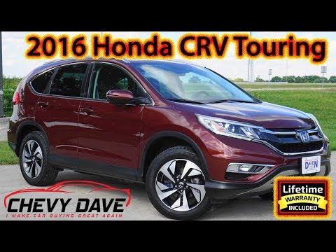 2016 Honda CRV Touring Model Review and It's For Sale