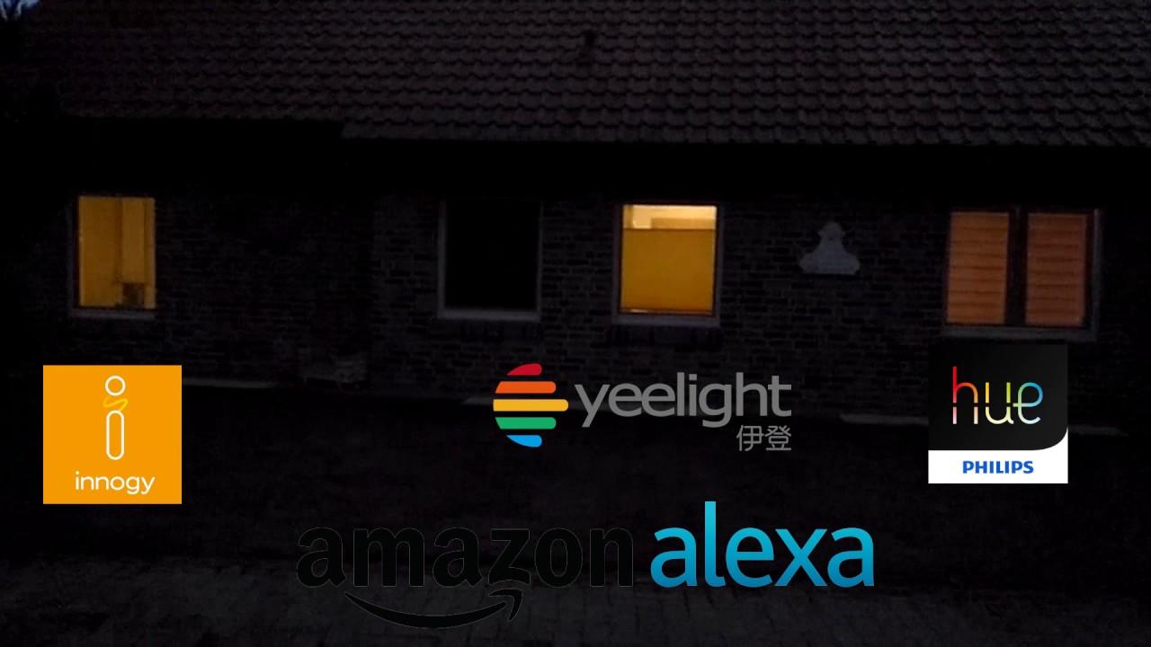 smart home beleuchtung alexa reaktionstest test youtube. Black Bedroom Furniture Sets. Home Design Ideas
