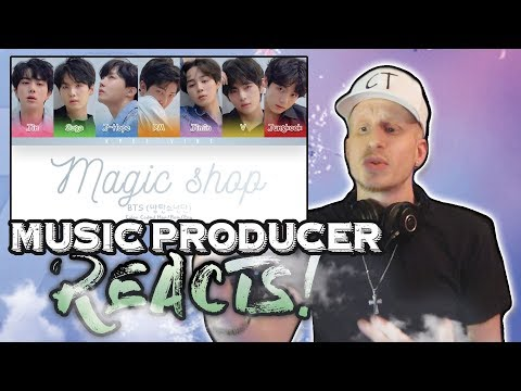 Music Producer Reacts to BTS - MAGIC SHOP