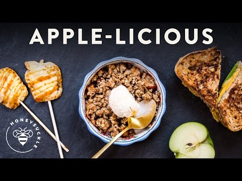 3 Fall APPLE Recipes - Honeysuckle